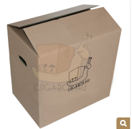 csigabox költöztető doboz