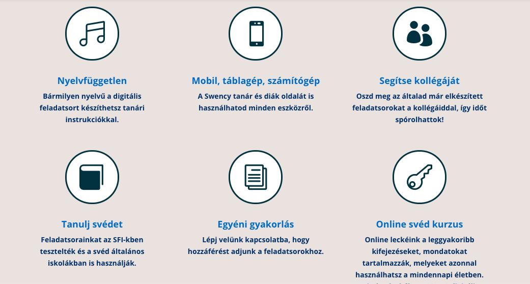svéd digitális munkafüzet